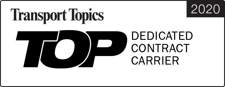 Transport Topics Top 50 dedicated contract carrier ITS Logistics